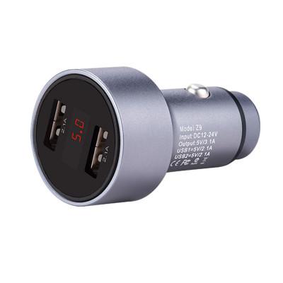 Автомобильное зарядное устройство Z9 Kingking Digital Display