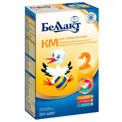 Смесь сухая кисломолочная «Беллакт» КМ 2+ с 6 месяцев до года (400 г)