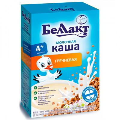 """Каша молочная гречневая """"Беллакт"""" с 4 месяцев (200 г)"""