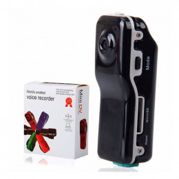 Мини-видеокамера-диктофон Mini Dv World Smallest Voice Recorder
